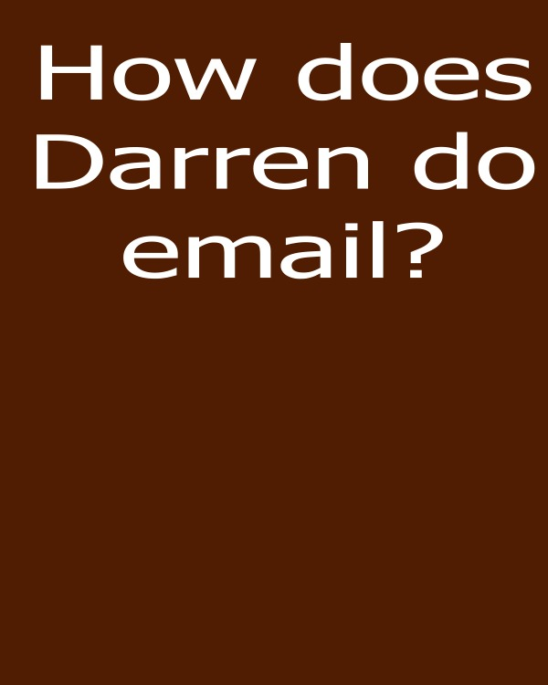 Darren Rowse Problogger promote email